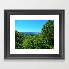 Butler Park Overlook of Kentucky Framed Art Print