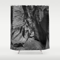 utah Shower Curtains featuring Slot Canyon, Utah by Lost In Nature