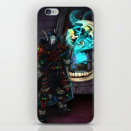 At the Forge iPhone Skin