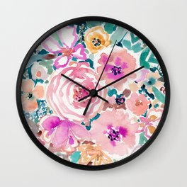 SMELLS LIKE SWEET SALT SPRAY Wall Clock