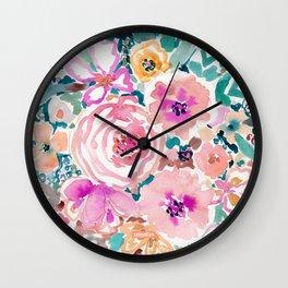 SMELLS LIKE SWEET SALT SPRAY Wall Clock
