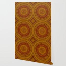 Vintage Bohemian Mandala Wallpaper