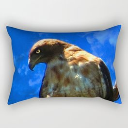 Hawk 3 Rectangular Pillow