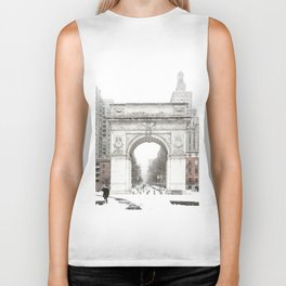 Washington Square Park Arch Biker Tank