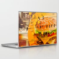 waldo Laptop & iPad Skins featuring Never In A Million Years < The NO Series (Orange) by Wayne Edson Bryan