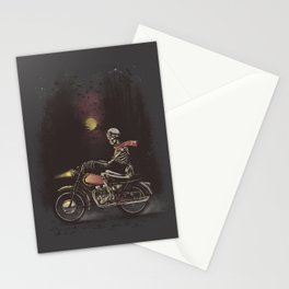 Death Rides in the Night Stationery Cards