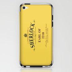 Earl of 221B iPhone & iPod Skin