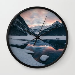 The Great White North Wall Clock