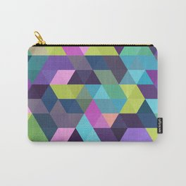 Colorful Geometric Background III Carry-All Pouch