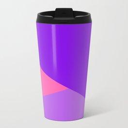 Pink Ombre Shapes Travel Mug