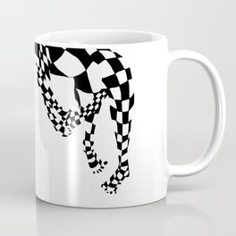 Chequed Out Coffee Mug