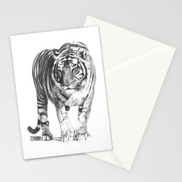 Bengal Tiger Drawing Illustration Stationery Cards