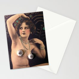 Naughty But Nice(d) - Deco Stationery Cards