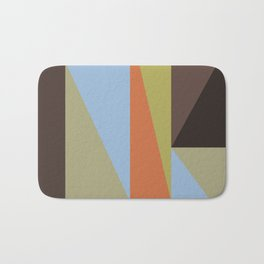 Abstract Composition 634 Bath Mat