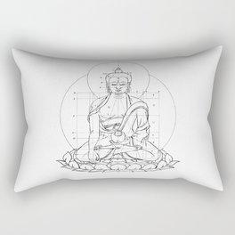 Buddha metrics Rectangular Pillow