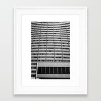 oakland Framed Art Prints featuring Oakland Lines by Peter J. Nelson