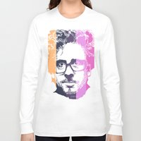 tim burton Long Sleeve T-shirts featuring TIM BURTON IN COLORS by BURRO