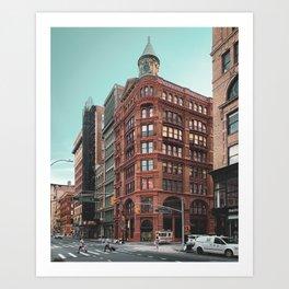 Broadway & Bleecker Art Print