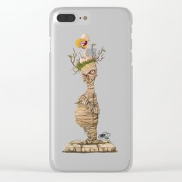 The Mummy Clear iPhone Case