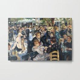 Dance at Le Moulin de la Galette by Renoir Metal Print