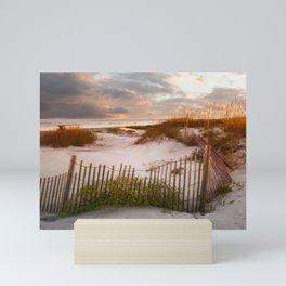 Jekyll Island Sunset - Great Dunes Park Mini Art Print