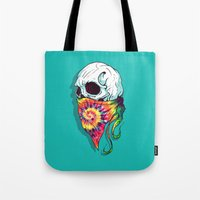 hipster Tote Bags featuring Hipster by Steven Toang
