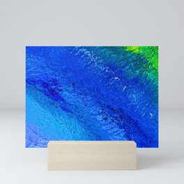 """Riptide #4"" Oil Painting Mini Art Print"