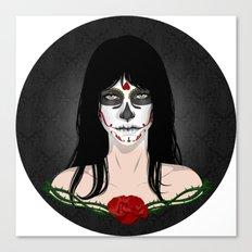 Muertos Canvas Print