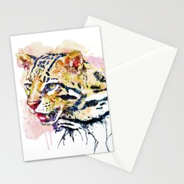 Ocelot Head Stationery Cards