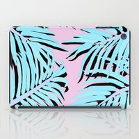 palm tree iPad Cases featuring Palm tree by Hanna Kastl-Lungberg