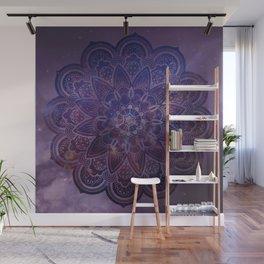 Ultraviolet Mandala Wall Mural