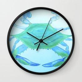 Chesapeake Blue Crab Wall Clock