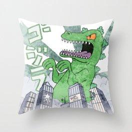 REPTAR Throw Pillow