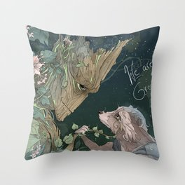 We Are Grt Throw Pillow