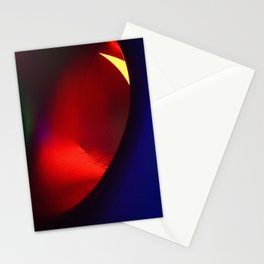 Red oval Stationery Cards