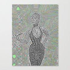 Noisy Dom Canvas Print