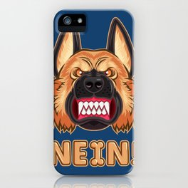 Doggy Says No iPhone Case