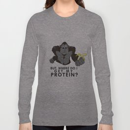 The Protein Question Long Sleeve T-shirt