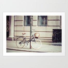 NYC Bike Art Print
