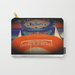 Ayrton Senna Tribute Design III Carry-All Pouch