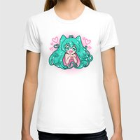 vocaloid T-shirts featuring Vocaloid: Love Miku by Alice In Underwear