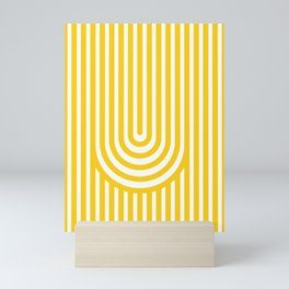 U, Mini Art Print