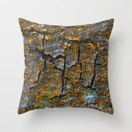 The identity of a tree Throw Pillow