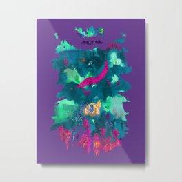 Life Aquatic Metal Print