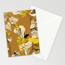 Yellow Ivy Stationery Cards