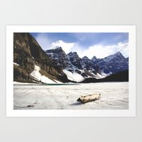 MORAINE LAKE NO.1 Art Print