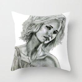 Handbags are a girl's best friend Throw Pillow