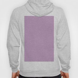 Lilac Purple Solid Color Hoody