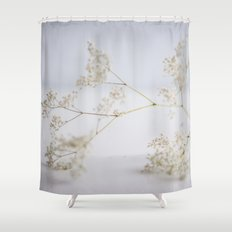 Soft flowers Shower Curtain