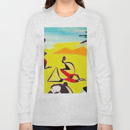 Lipton in East Africa          by Kay Lipton Long Sleeve T-shirt